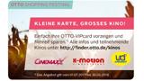 OTTO-VIPcard: Kinokarte nur 6,90 Euro für Mitglieder