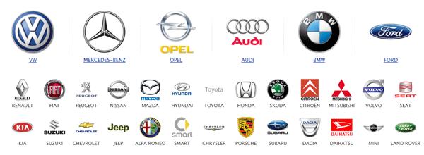 Pkwteile.de Automarken